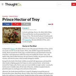 Prince Hector of Troy - Character Profile