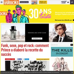 Funk, sexe, pop et rock: comment Prince a élaboré la recette du succès