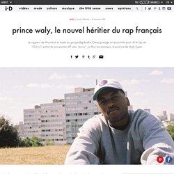 prince waly, le nouvel héritier du rap français