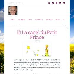 La santé du Petit Prince - Réflexion philosophique