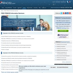 FREE PRINCE2 Information Seminars