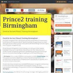 Prince2 training Birmingham