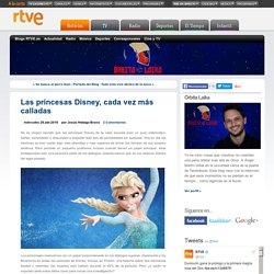 Las princesas Disney, cada vez más calladas - Órbita Laika