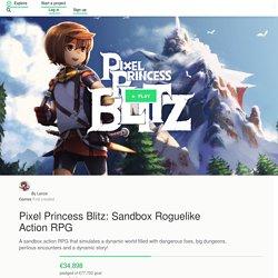Pixel Princess Blitz: Sandbox Roguelike Action RPG by Lanze Games