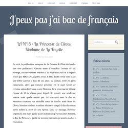 LA N°15 : La Princesse de Clèves, Madame de La Fayette