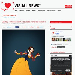 Disney Princesses In Accurate Period Costume - StumbleUpon