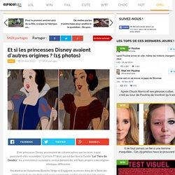 Et si les princesses Disney avaient d'autres origines ? (15 photos)
