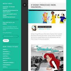 If Disney Princesses Were Engineers… – A Hedy Journey