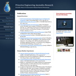 Engineering Anomalies Research