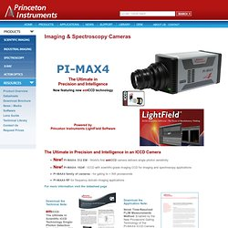 Princeton Instruments - PI-MAX 3 ICCD Camera