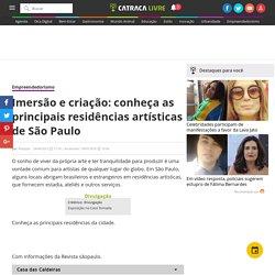 Imersão e criação: conheça as principais residências artísticas de São Paulo