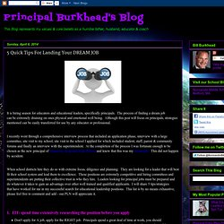 The Burkie Blog