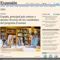 España, principal país emisor y destino favorito de los estudiantes del programa Erasmus
