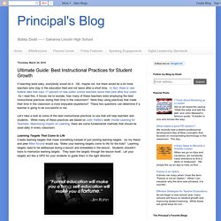Ultimate Guide: Best Instructional Practices for Student Growth