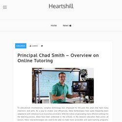 Principal Chad Smith - Overview on Online Tutoring