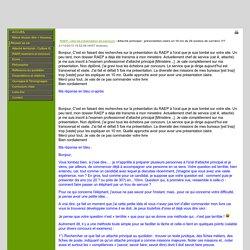 Site Internet de Philippe Géléoc - News: Attaché principal : présentation claire en 10 mn de 20 années de carrière ?!?