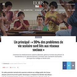 Un principal: «90% des problèmes de vie scolaire sont liés aux réseaux sociaux»