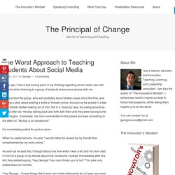 The Principal of Change