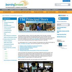 The Principal Story Learning Guide
