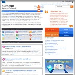 Eurostat - Statistics explained - Guide des statistiques européennes