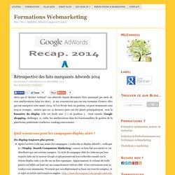 Adwords 2014 principales améliorations à retenir