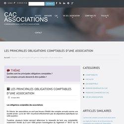 Les principales obligations comptables d'une association
