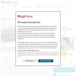 BIC / IS : les principales différences LégiFiscal