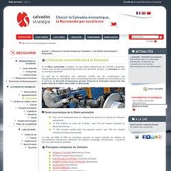 L'industrie automobile dans le Calvados. Poids économique et principales entreprises.
