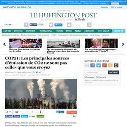 COP21: Les principales sources d'émission de CO2 ne sont pas celles que vous croyez