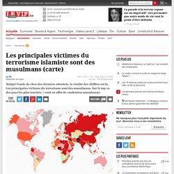 Les principales victimes du terrorisme islamiste sont des musulmans (carte)