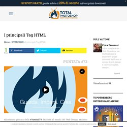 I principali Tag HTML ⋆ Total Photoshop