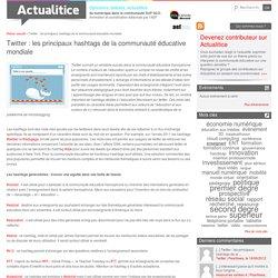 Twitter : les principaux hashtags de la communauté éducative mondiale