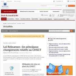 Loi Rebsamen: les principaux changements relatifs au CHSCT