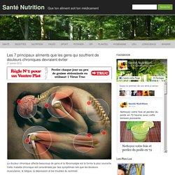 Les 7 principaux aliments que les gens qui souffrent de douleurs chroniques devraient éviter
