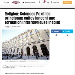 Religion: Sciences Po et les principaux cultes lancent une formation interreligieuse inédite