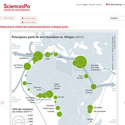 Sciences Po Map Library - Principaux ports de marchandises en Afrique (2011)