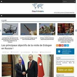 Les principaux objectifs de la visite de Erdogan en Russie