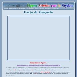 Principe du Sismographe