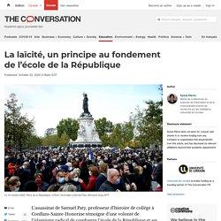 La laïcité, un principe au fondement de l'école de la République (Theconversation.com)