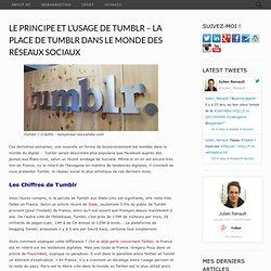 Le Principe et l'Usage de Tumblr – La Place de Tumblr Dans le Monde des Réseaux Sociaux