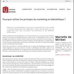 Marketing et communication arrivent en bibli pour un plus large public