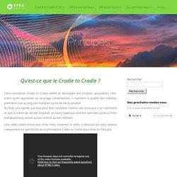 Principes Cradle to Cradle - EPEA Paris - France