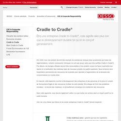 Principes Cradle to Cradle® pour l'entreprise durable
