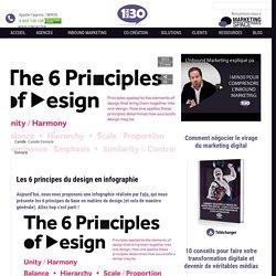 Les 6 principes du design en infographie