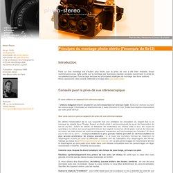 Principes du montage photo stéréo