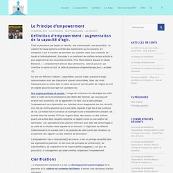 Principes positifs Archives - Organisations Positives
