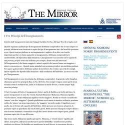 I Tre Principi dell'Insegnamento - The Mirror - Italian Edition