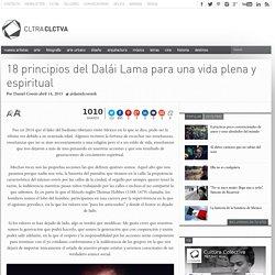 18 principios del Dalái Lama para una vida plena y espiritual