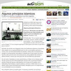 Algunos principios islamicos