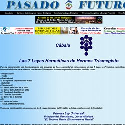 Kabbalah 7 Leyes Principios Hermeticos Trismegisto Cabala